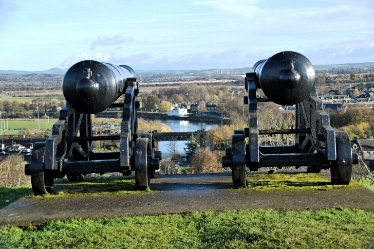 Old Canons on Gowan Hill.JPG